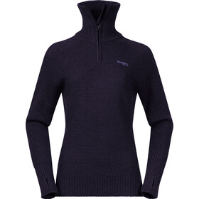 Bergans Ulriken Sweat-shirt Femme, purple velvet melange